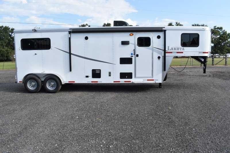 #00387 - New 2019 Lakota Colt 7209 2 Horse Trailer with 9' Short Wall