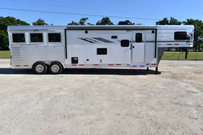 #00272   New 2019 SMC SL8313SSR 3 Horse Trailer With 13u0027 Short Wall