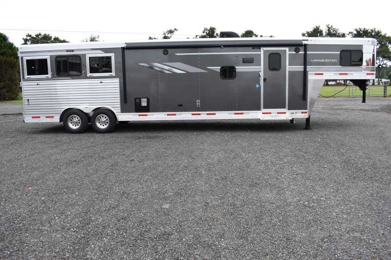 #00629 - New 2019 SMC SL8315SRKCE 3 Horse Trailer  with 15' Short Wall