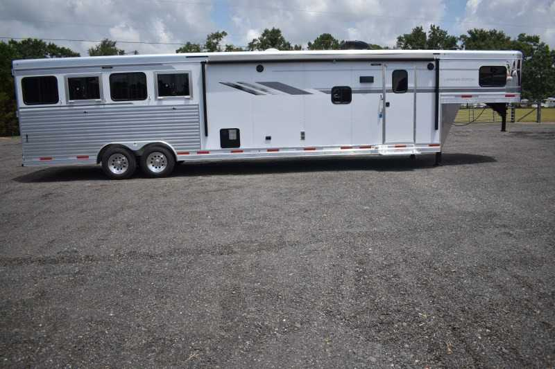 #00619 - New 2019 SMC SL8415SRKCE 4 Horse Trailer  with 15' Short Wall