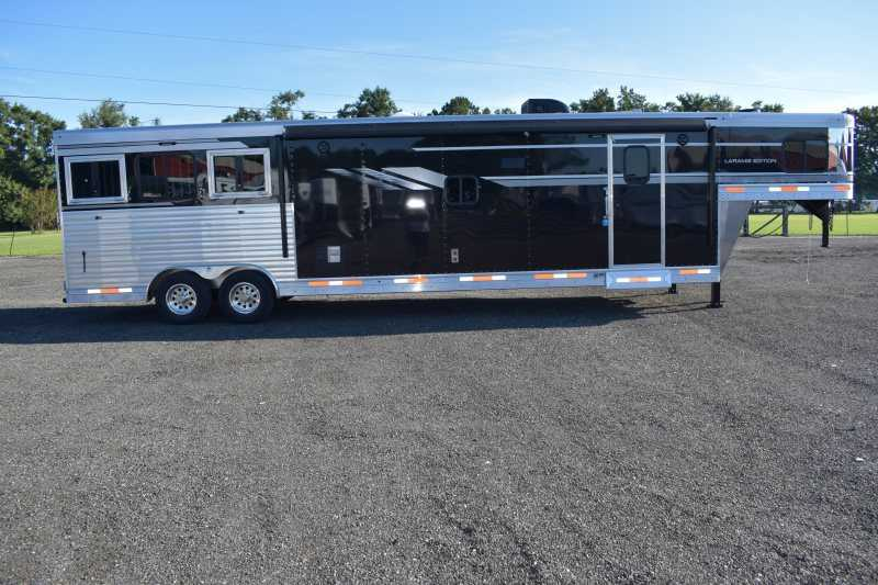 #00631 - New 2019 SMC SL8316SSR 3 Horse Trailer  with 16' Short Wall