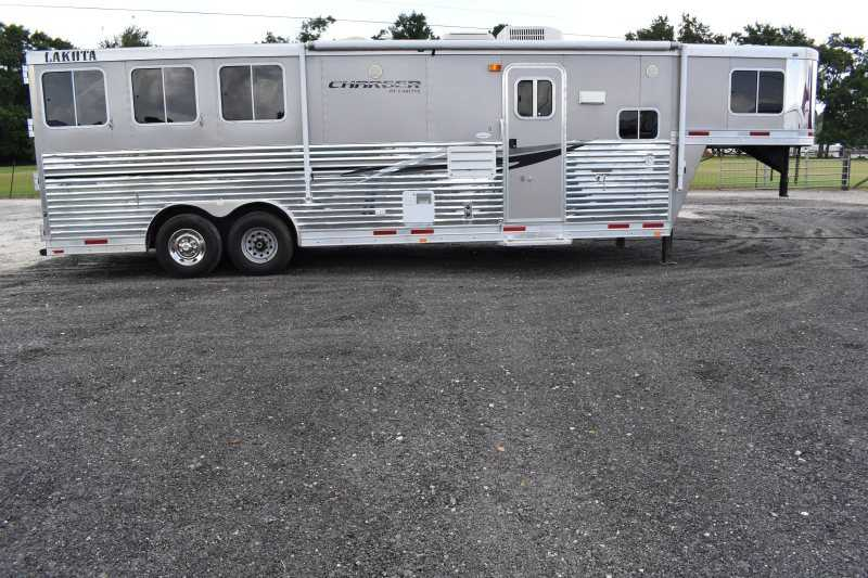 #87640 - Used 2012 Lakota 8311 GLQ 3 Horse Trailer with 11' Short Wall