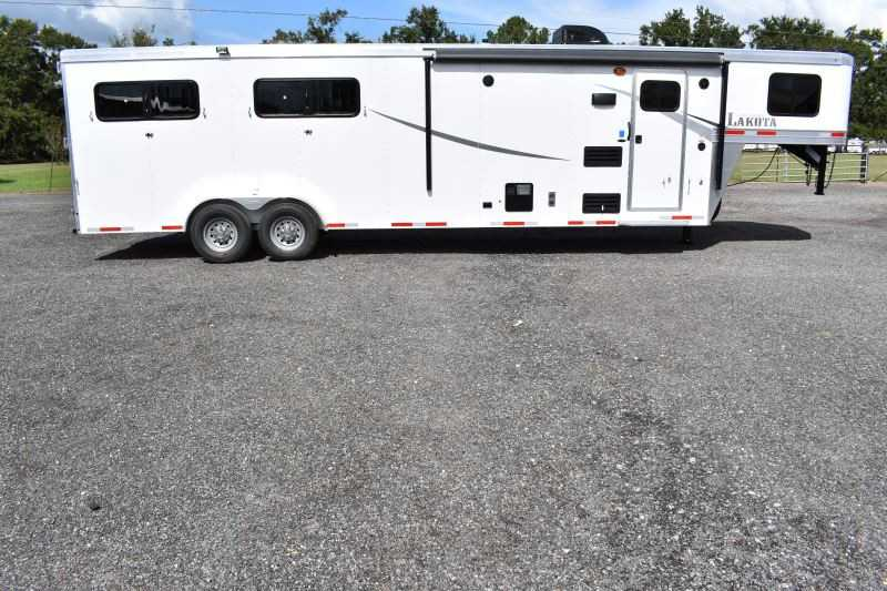 #00923 - New 2019 Lakota Colt 7409 4 Horse Trailer  with 9' Short Wall