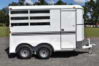 #77892 - New 2019 Bee 2HBPSL 2 Horse Trailer  with 2' Short Wall