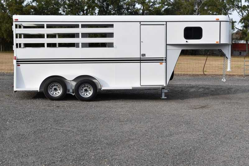 #77917 - New 2019 Bee 3HGNSL 3 Horse Trailer with 2' Short Wall