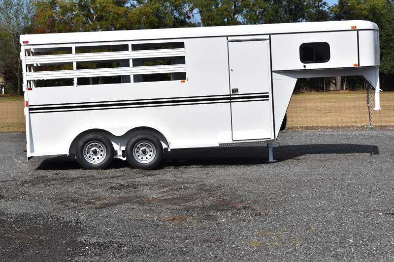 #77920 - New 2019 Bee 3HGNSL 3 Horse Trailer with 2' Short Wall
