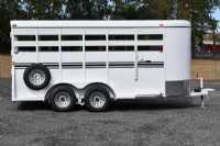 #77921 - New 2019 Bee 16' BP STK Stock Trailer